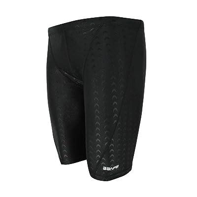 Srnfean Men's Quick Dry Swim Jammer Shorts Swimsuit