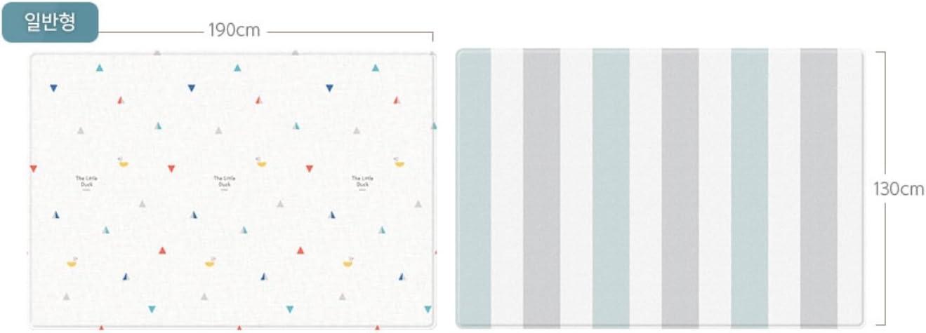 Parklon Pure Soft Play Mat The Ugly Ducking 190*130*1.2cm環境安全ベビープレイマット赤ちゃんマット(海外直送)