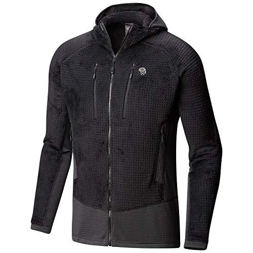 (Mountain Hardwear Men's Monkey Man¿ Grid II Hooded Jacket Black 3 Medium )