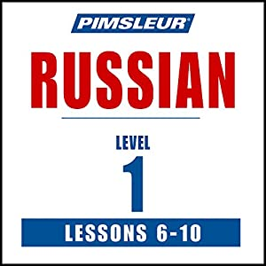 Russian Level 1 Lessons 6-10 Speech