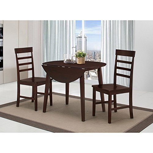 Harrison Antique Oak Dining Table with 2 Chairs, Simply wipe clean with a soft dry cloth