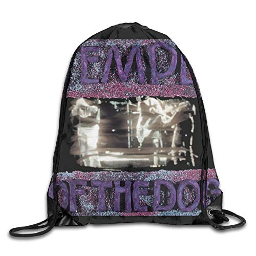 AlexisW Temple of The Dog Backpack Gymsack Drawstring Bags Gym Sack Bag for Men & Women
