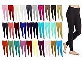 Missloved ™ Plain Stretchy Viscose Lycra Leggings Sizes UK 8 - 26 *30 Colours*