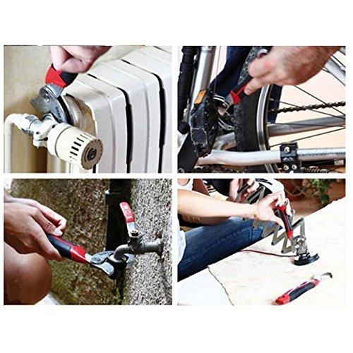 Lot de 2 clés de serrage réglable Origlam : universelles et multifonction, Quick Snap n Grip: Amazon.es: Bricolaje y herramientas