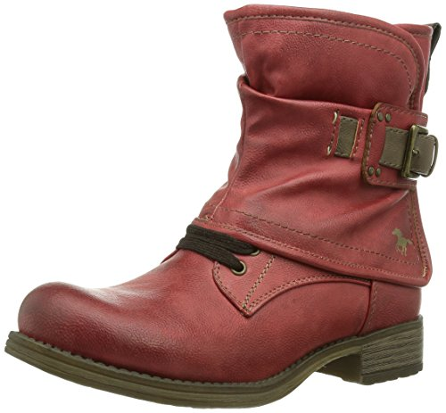 Booty fille 5 Boots Mustang Rouge Rot EwdnP