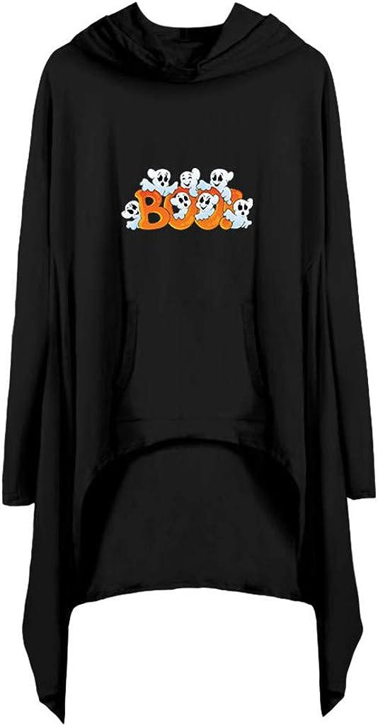 Reooly Camisa de Bolsillo de Manga Larga con Estampado de ...