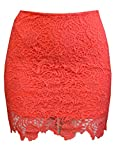 MonsterCloset Women's Skirt w/ Mesh Design