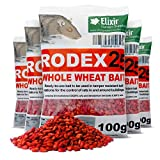 Elixir Gardens Rat Poison 10kg Strongest Available Online 100 x 100g Rodex Sachets Prime