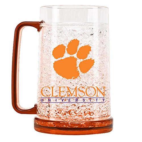 (NCAA Clemson Tigers 16oz Crystal Freezer Mug)