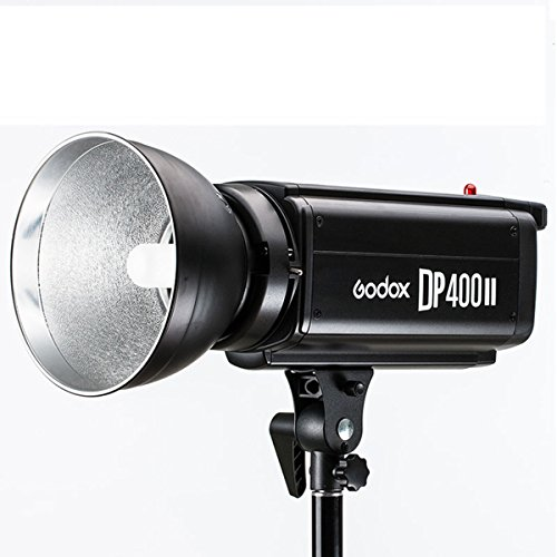 Godox DP400II 400Ws GN65 5600K Color Temperature 0.3-1.2s Recycle Time 2.4GHz Strobe Flash Studio Light (100-120V) by Godox