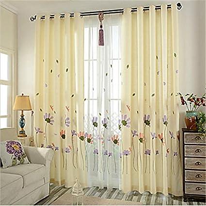 Due pannelli in cotone ricamato tende Camera per bambini sala da ...