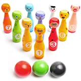 Bowling Game Set for Kids: Best Indoor Bowling Set- Easy to Set Up and Fun to Knock Down