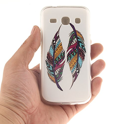 Samsung Slim Fit Soft motif TPU couverture dos Silicone peint SM Hozor r Core antichoc cas Galaxy Plus G350 6wZdH