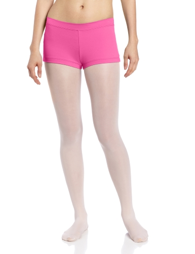 Capezio Women's Low Rise Boy Cut Short, Hot Pink, X-Small (Dance Costumes On Line)