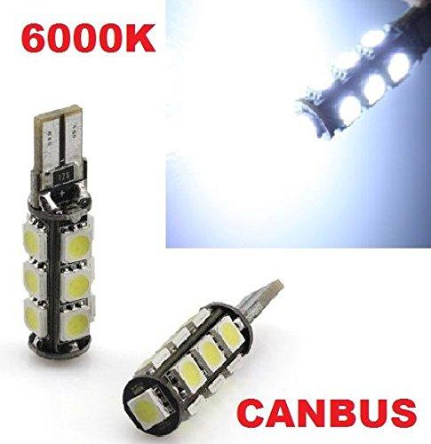 inion® 13er Xenon Luce di posizione a LED, lampade led soffiten lampadine con Intensive luminosità T10, canbus, Xenon bianco ca. K 12V lampade led soffiten lampadine con Intensive luminosità T10 Xenon bianco ca. K 12V