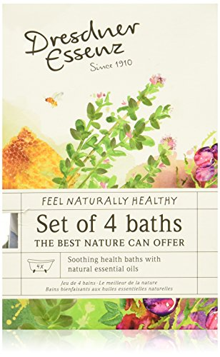 Dresdner Essenz Bath Packets of Natural Essential Oils -  Set of 4