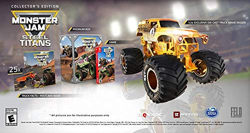 Monster Jam Steel Titans Collector's Edition - Nintendo Switch Collector's Edition