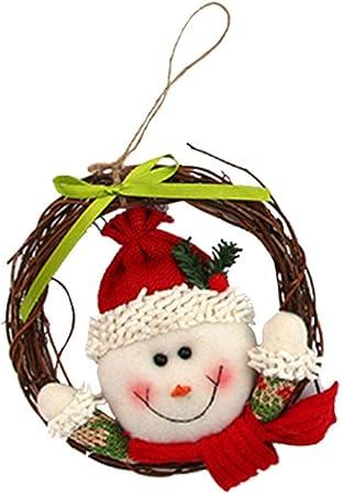 Amazon.com: 2018 Mini Navidad Santa Claus Muñeca Colgante ...