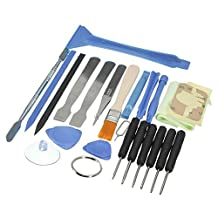 SODIAL(R) 1 Set Durable Disassemble Tools Phone Screen Laptop Opening Repair Tools Set Kit For iPhone For iPad Cell Phone Tablet PC