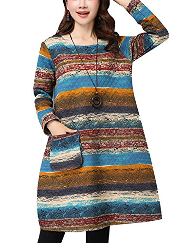 Quilted Womens Dress - 4