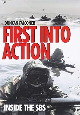 book cover of First into Action