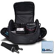 Medium Soft Padded Camera Equipment Bag/Case for Nikon, Canon, Sony, Pentax, Olympus Panasonic, Samsung & Many More