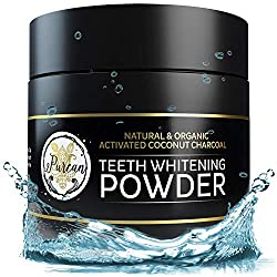 """Teeth Whitening Activated Coconut Charcoal Powder """" 2oz """" Activated Charcoal Teeth Whitening Kit """" Tooth Whitening """" Teeth Whitener """" White Teeth Whitening Charcoal """" Tooth Powder"""