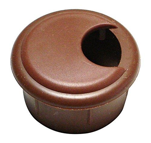 Brown Desk Grommet (Hard-to-Find Fastener 014973167141 Computer Grommets - Brown (2 Piece), 1-1/2