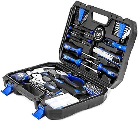 Maletín de Herramientas, 120 Caja Herramientas, General Household DIY Tool Kit with Tool Box Storage Case for House, Office, Dorm and Apartment por PROSTORMER: Amazon.es: Bricolaje y herramientas