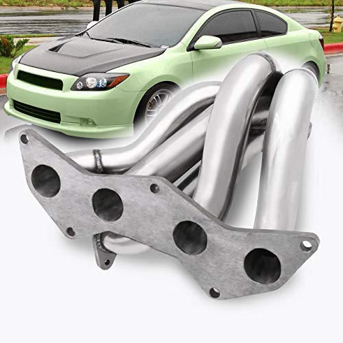 (AJP Distributors Stainless Steel T3 Turbo Exhaust Manifold For Scion tC 2.4L 2AZ-FE VVT-I Performance Upgrade Replacement)
