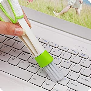 Gotd Keyboard Dust Collector Computer Clean Tools Window Blinds Cleaner (White) by Goodtrade8