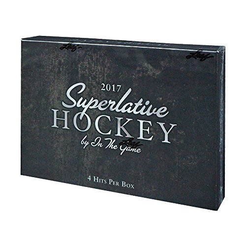 2017-18 Leaf In The Game Superlative Hockey Hobby Box