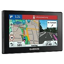 """Garmin DriveAssist 50 EU LMT-D - Navegador para coche (pantalla con función zoom táctil de 5"""", Garmin Real Directions, cámara integrada, Bluetooth), negro"""
