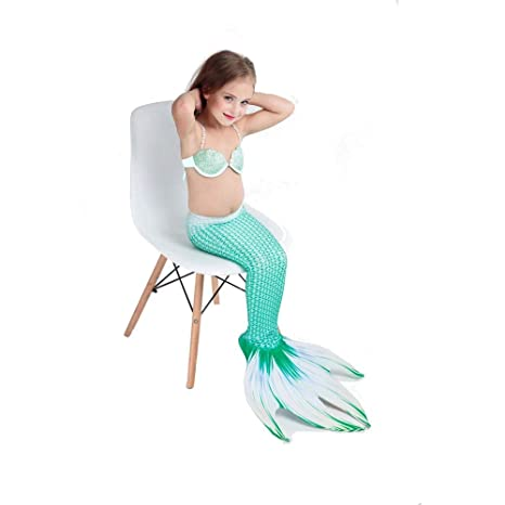 Bañador Mujer Cola De Sirena para Niñas,Chicas Cosplay ...