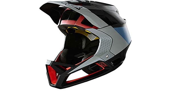 Amazon.com : Fox Racing Proframe Helmet Drafter Black, L : Sports & Outdoors