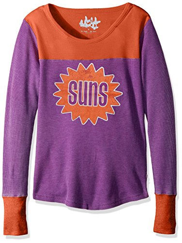 Touch by Alyssa Milano NBA Phoenix Suns Blindside Thermal, X-Large, Purple