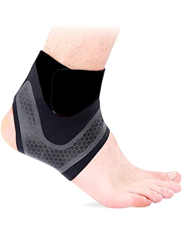 29dfff224014 Hually Ankle Support, [2 Pack]Ankle Brace for Men and Women Adjustable  Breathable