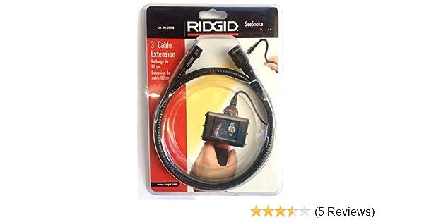 Amazon.com: Ridgid 26658 3-Foot Cable Extension for SeeSnake Model 25643 Micro Explorer: Home Improvement