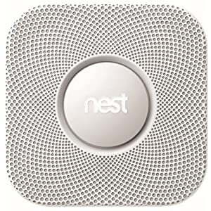 Nest Protect Smoke & Carbon Monoxide Alarm, Wired (2nd Gen)
