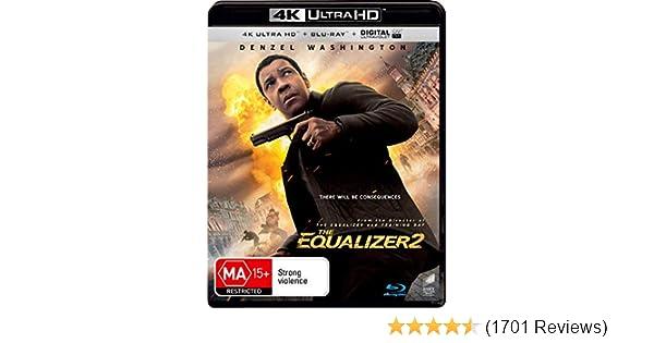 Amazon com: The Equalizer 2 4K UHD / Blu-ray | Denzel