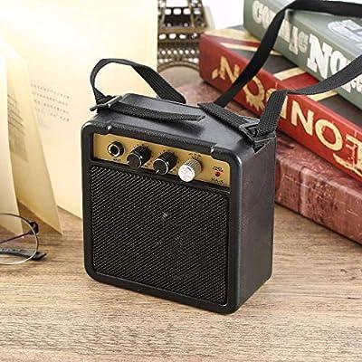 Amplificador de guitarra mini amplificador de guitarra E-WAVE con clip trasero Accesorios de guitarra para guitarra eléctrica acústica E-WAVE (Color: Negro)