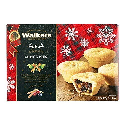 Holiday Mini Mincemeat Tarts - 1 Box, 6 Pieces