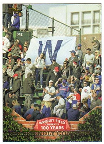 2016 Topps Topps 100 Years at Wrigley #WRIG-48 The Friendly Confines Baseball - Friendly Shops The At
