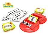Little Treasures Word Learning Board Game, Teaches Word Recognition and Spelling - Learn & Play Game