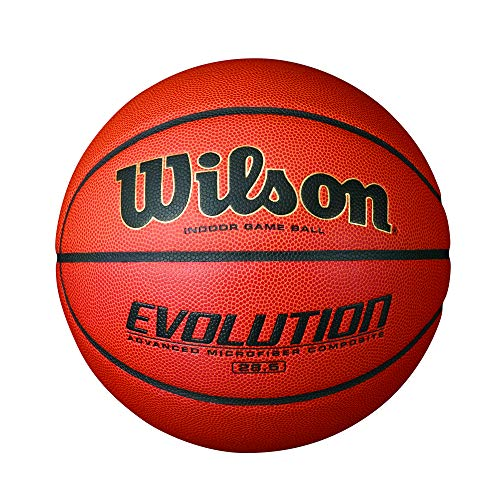 (Wilson Evolution Indoor Game Basketball, Intermediate - Size 6)