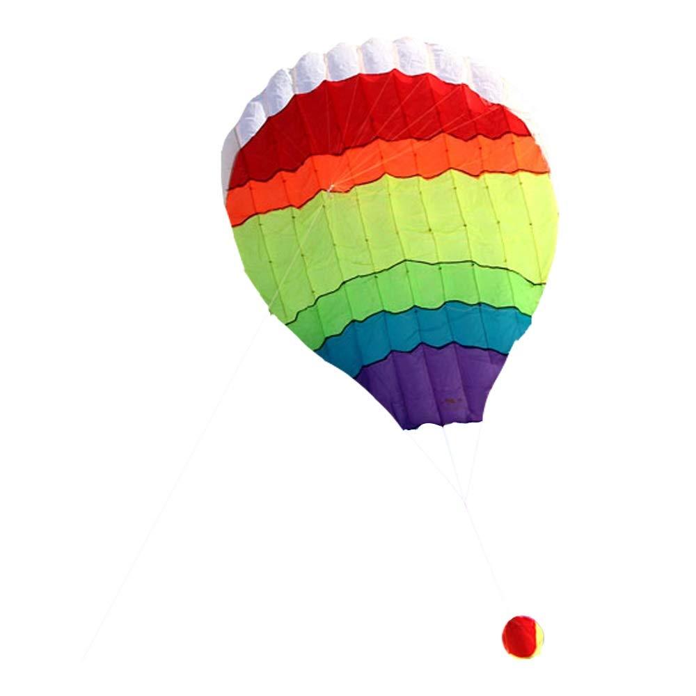 凧カイトフライング ソフトカイト熱気球ソフトボディカイトバルーンカイトカラーランダム B07QGN28F1 屋外のおもちゃを飛ばすのが簡単 B07QGN28F1, ヨコタチョウ:2f98e27c --- ferraridentalclinic.com.lb