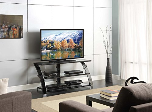 Whalen Furniture Camarillo 3-in-1 TV Stand, 50-Inch