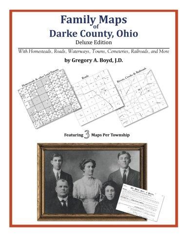 Family Maps of Darke County, Ohio ebook