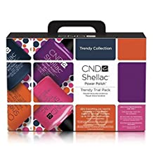 CND Creative Nail TRENDY Shellac Trial Pack Collection by N/A