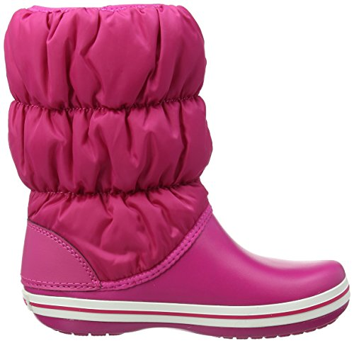Puff candy Botas Nieve Boot Para De Crocs Winter Mujer Rosa candy Pink Pink q6zZqw